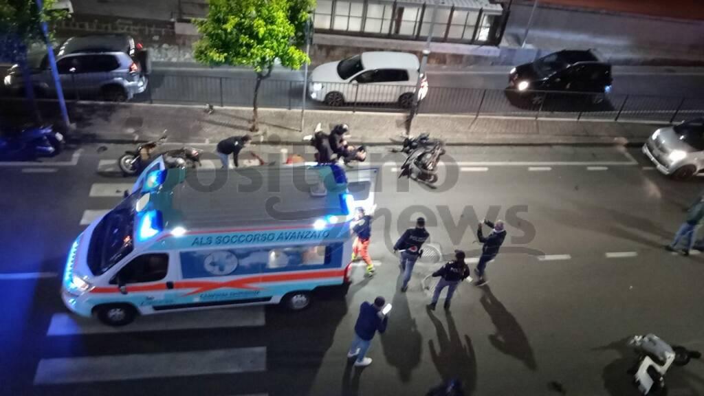 Sorrento, grave incidente stradale a Via degli Aranci