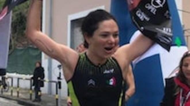 Sorrento, Lidia Principe secondo posto nel Triathlon delle Palme
