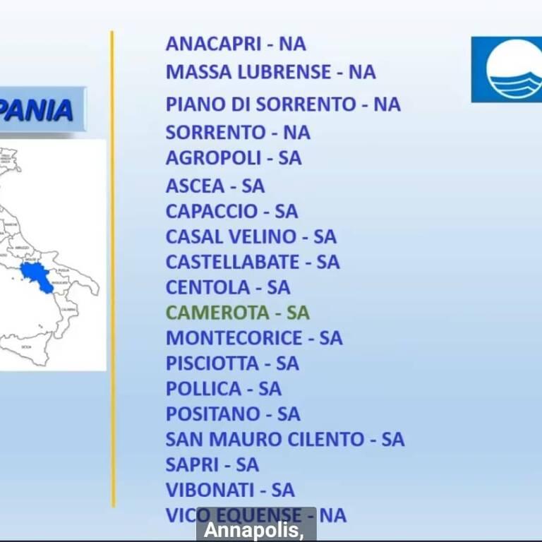 Sorrento, Luigi Di Prisco celebra la conferma della Bandiera Blu