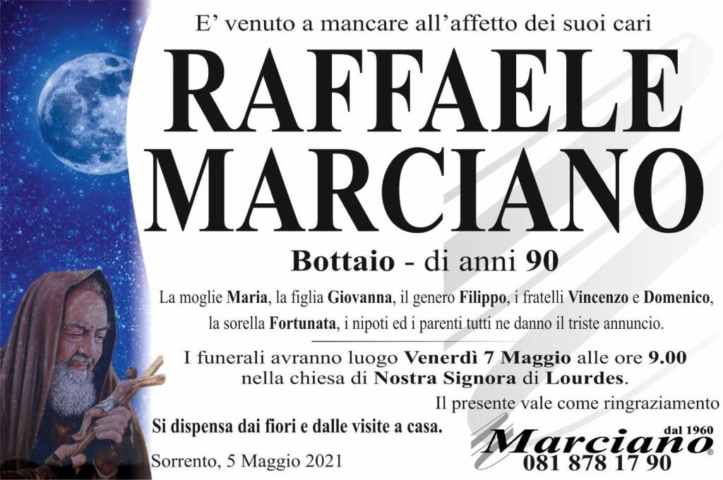Sorrento piange la perdita del maestro bottaio Raffaele Marciano