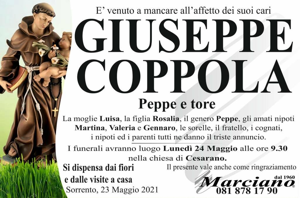 Sorrento piange la scomparsa di Giuseppe Coppola (Peppe e tore)
