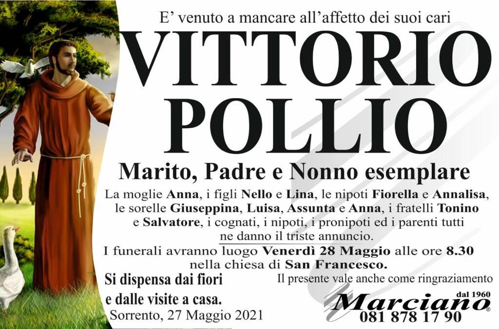 Sorrento piange la scomparsa di Vittorio Pollio