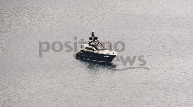 Tornano gli yacht a Positano: il primo di quest'anno è Irisha