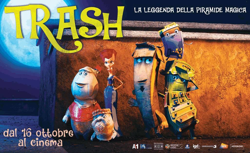 """""""Trash"""" il film di animazione prodotto anche dalla Regione Campania"""