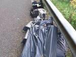 Vietri sul Mare/Cava de' Tirreni: rifiuti tossici sulla strada Provinciale SP 75, la denuncia del Comitato Civico Dragonea