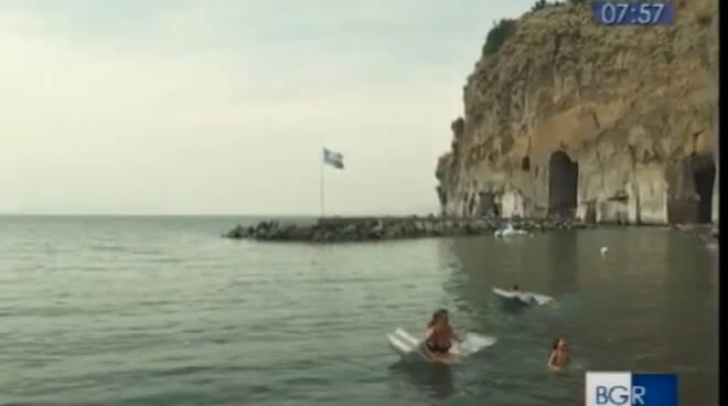 """A """"Buongiorno Regione"""" su Rai3 i quattro comuni della penisola sorrentina che hanno conquistato la bandiera blu 2021"""