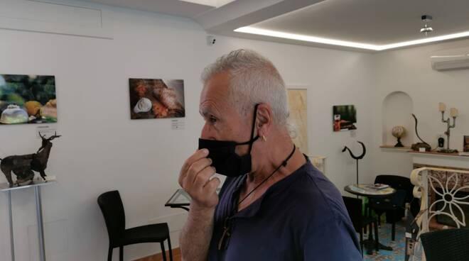 A Positano la mostra di Carmine Buonocore, artista di Agerola