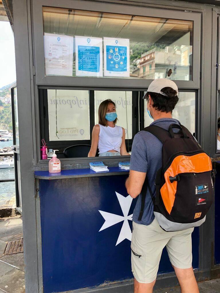 Amalfi, riattivato l'infopoint turistico
