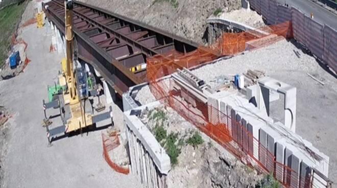 Anas: avanzano i lavori di manutenzione programmata sul ponte 'Santo Spirito', sulla SS90/bis in provincia di Avellino