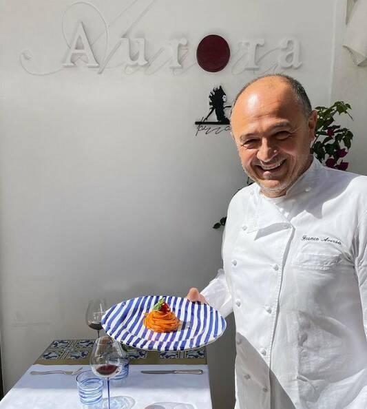 Aversa chef Aurora Capri