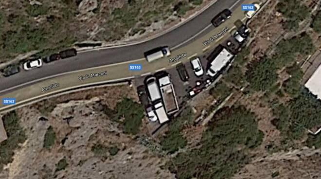 Camion Rubati a Positano