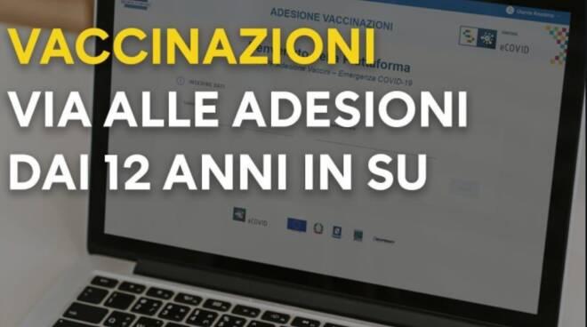 Campania, partita la campagna di vaccinazione 12-17 anni