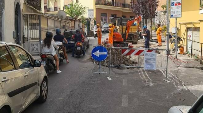 Caos a Sant'Agnello: San Giuseppe senza corrente