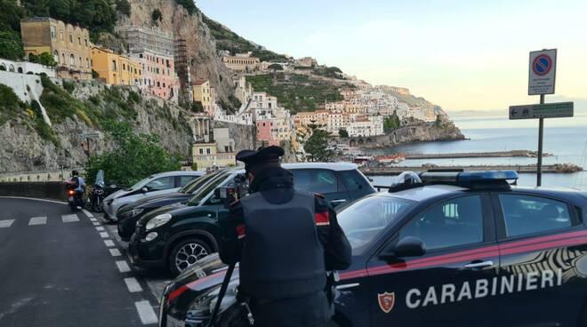 Carabinieri Amalfi Positano controlli