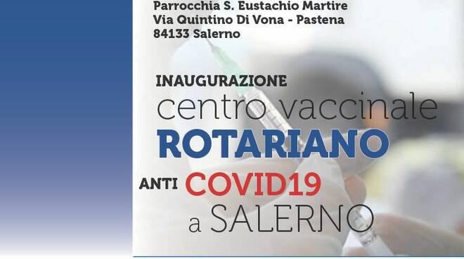 Primo centro vaccinale rotariano anticovid a Salerno