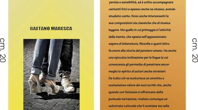 """Presentazione del libro \""""Paola e altri racconti\"""", per sabato prossimo nel giardino della Chiesa di Lourdes a Sorrent"""