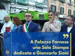 Castellammare di Stabia. A Palazzo Farnese una Sala Stampa dedicata a Giancarlo Siani
