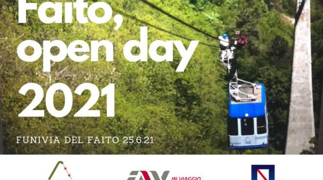 Castellammare di Stabia: per l'arrivo dell'estate organizzato il primo Open Day Funivia del Faito
