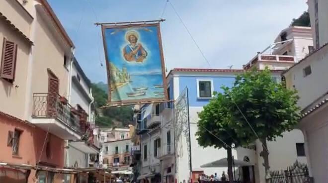 Cetara, la tradizionale Alzata del Quadro di San Pietro ed il programma delle celebrazioni