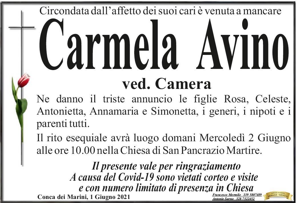 Conca dei Marini: è venuta a mancare Carmela Avino, vedova Camera