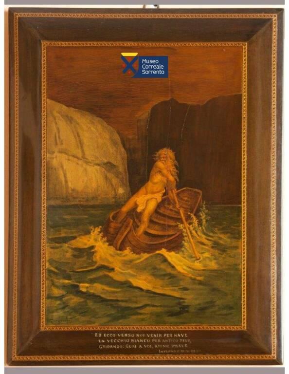 Dante e il Museo Correale: le opere sorrentine arrivano a Firenze