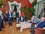 Garavaglia a Positano con il sindaco Giuseppe Guida