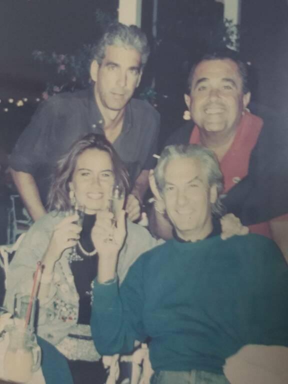 Gerardo D'Andrea con Cecilia Donadio