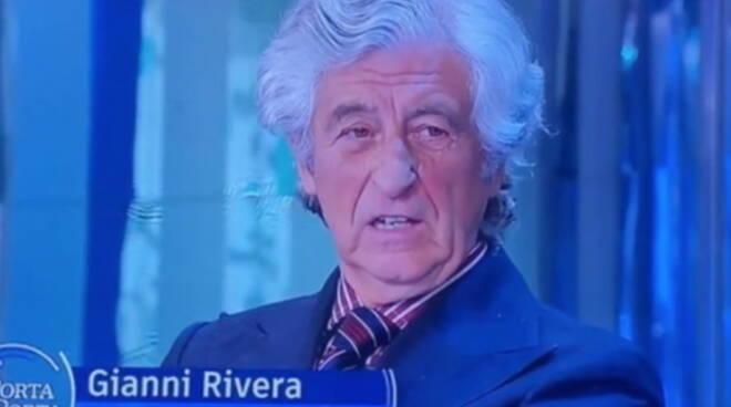 """Gianni Rivera a Porta a Porta: """"Vaccinarmi? Non ci penso proprio"""". E Burioni gli dà del babbeo"""