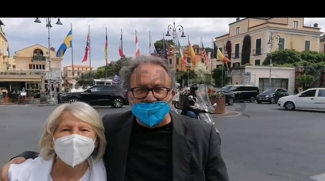 Gigione Maresca con Sara Ciocio