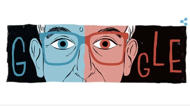 Il Doodle di Google di oggi celebra l'80° anniversario della nascita di Krzysztof Kieślowski