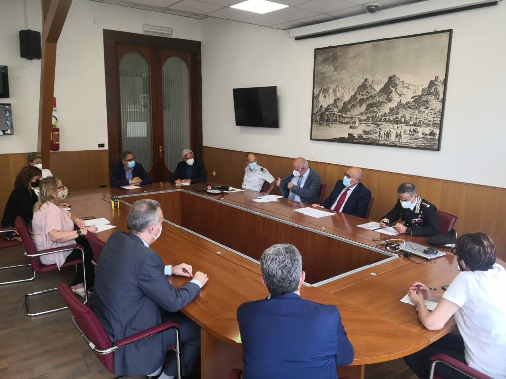 In Prefettura a Salerno riunione  per l'Ordine e la Sicurezza Pubblica
