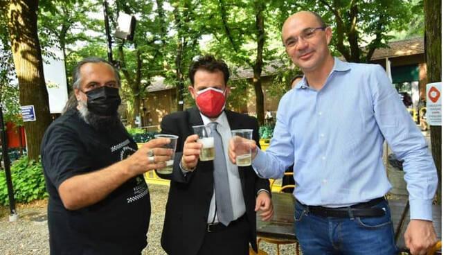 """L'Associazione Pizza Tramonti alla """"Grande cena di Boorea"""" a Reggio Emilia per un'iniziativa di beneficenza"""