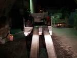 Lavori notturni a Sant'Agnello