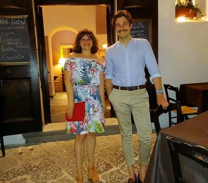 Lino Guanciale si rilassa in vacanza ad Amalfi