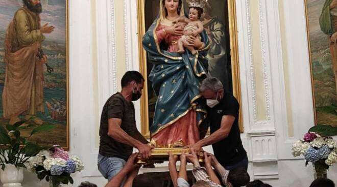 Madonna delle Grazie a Montepertuso a Positano