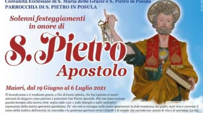 Maiori, dal 19 giugno al 6 luglio i Solenni Festeggiamenti in onore di San Pietro Apostolo