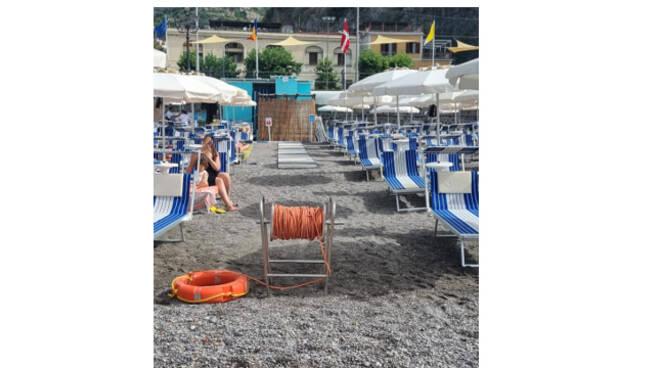 Minori, la spiaggia libera un diritto da tutelare per tutti i cittadini