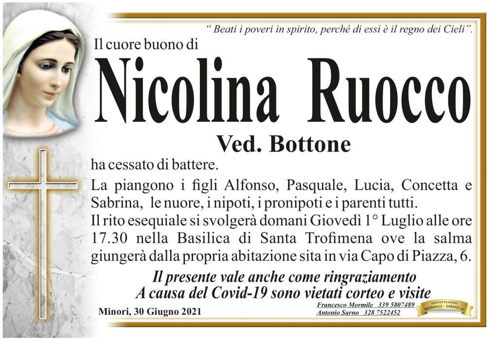 Minori piange la perdita di Nicolina Ruocco