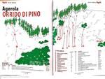 Orrido del Pino ad Agerola arrampicata