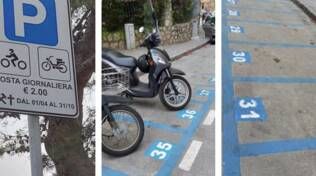 parcheggi motorini meta