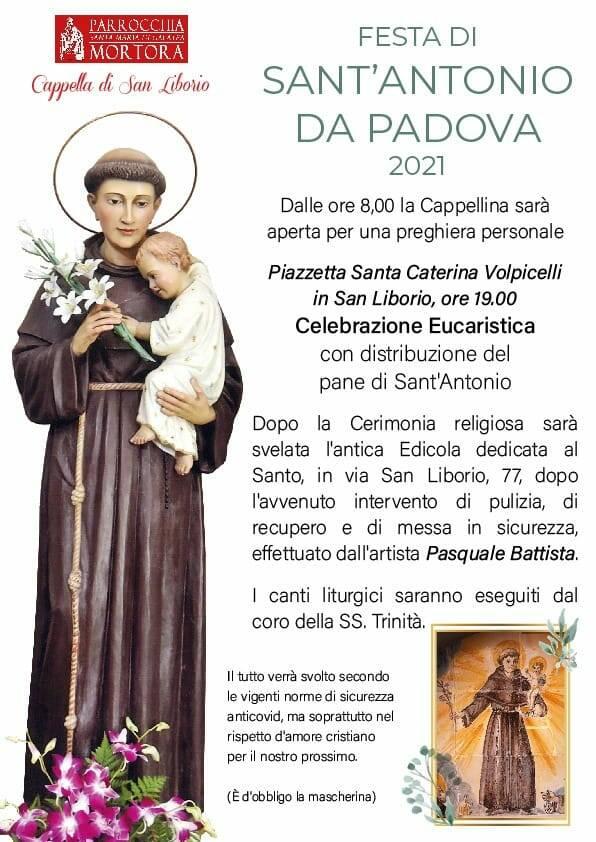 Piano di Sorrento, a San Liborio festeggiamenti in onore di Sant'Antonio da Padova
