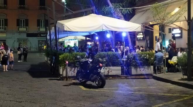 Piano di Sorrento, musica e relax in Piazza Cota trasformata in isola pedonale