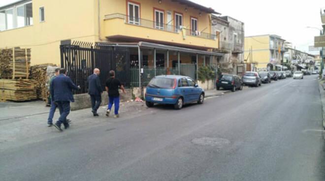 Pompei, finalmente lavori alla strada piscina di Via Fontanelle