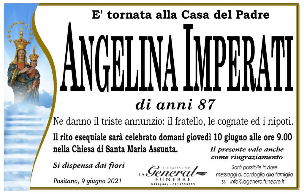 Positano: all'età di 87 anni, Angelina Imperati è tornata alla Casa del Padre