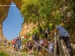 Positano: la Santa Messa per la Madonna delle Grazie dal Buco di Montepertuso