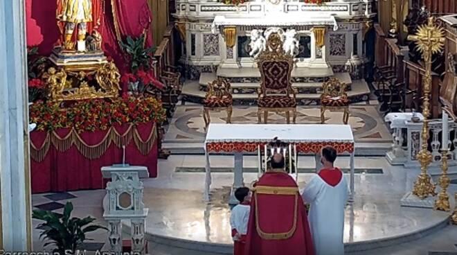 """Positano si prepara a celebrare San Vito: alle 19 il rito del """"Lucernario"""""""