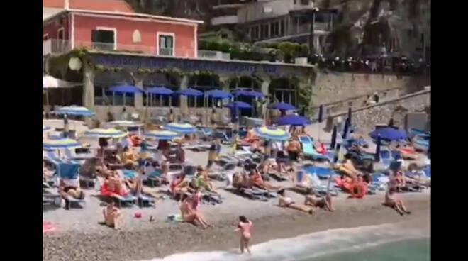 Praiano, una domenica di sole e mare alla Praia, preludio d'estate