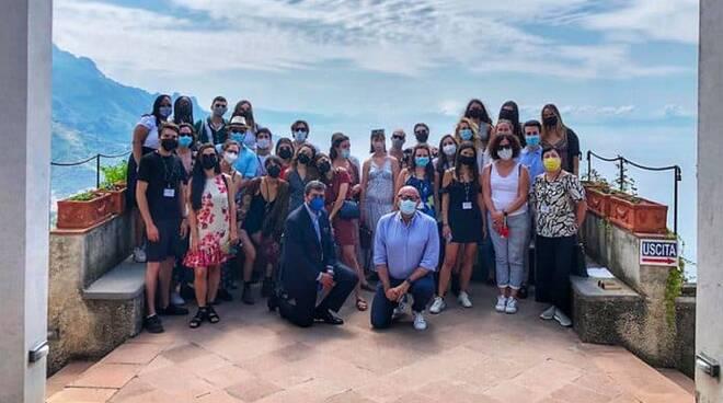 Ravello: gli studenti della Bocconi in visita a Villa Rufolo. Siglato l'accordo con il Conservatorio San Pietro a Majella e riattivato il progetto ReidRavello