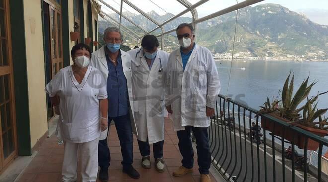 Ravello, procede rapidamente la campagna vaccinale presso l'ospedale di Castiglione