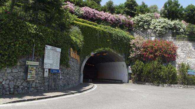 Ravello: questa sera dalle 22.30 senso unico alternato in uscita del tunnel lato via Boccaccio